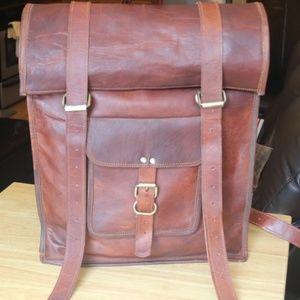 Handmade Vintage inspired backpack